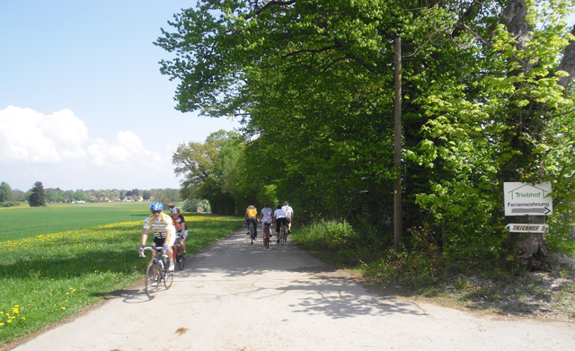 Mit dem Fahrrad direkt vom Haus in die freie Natur starten